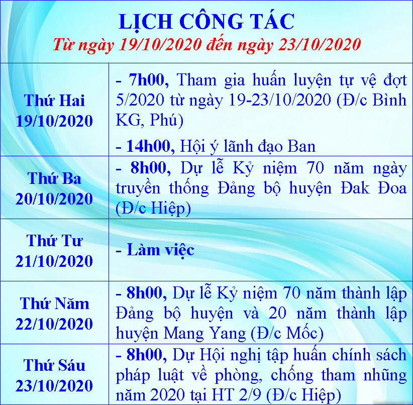 Lịch tuần